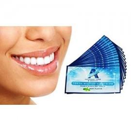 Espumosos Profesional fuerza 6% de HP para blanquear los dientes tiras blancas - tiras elásticas además de Fórmula Advanced W