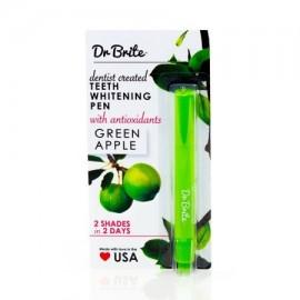 Dr. Brite Dientes que blanquean la pluma manzana verde