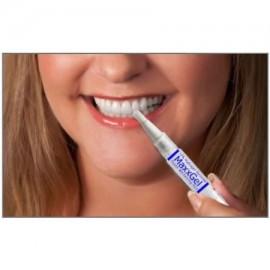 MaxxGel Dientes que blanquean la pluma. 12% de peróxido de hidrógeno para blanquear los dientes en cualquier momento- Paquete