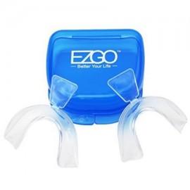EZGO fino estupendo Thermo blanquear los dientes bandejas con el caso