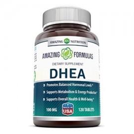 Amazing Formulas DHEA Suplemento 100mg 120 Tablets
