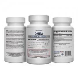 1 Por DHEA Superior Labs - 100 mg 60 cápsulas vegetales 100% Natural - Hecho en EE.UU. garantía 100% de devolución de dinero