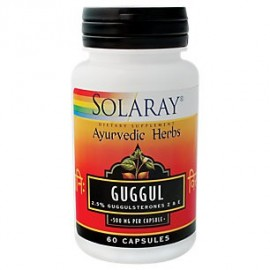 Guggul 500 mg Por Solaray - 60 Cápsulas