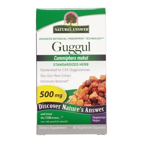 Nature's Answer Guggul Estándar 60 Ct