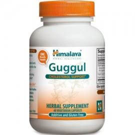 Hierbas Himalaya Guggul Orgánica de colesterol y tiroides textuales 720 mg 60 Ct