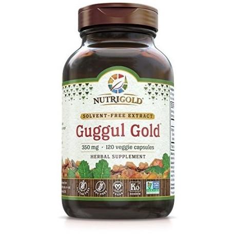 Nutrigold Guggul Oro 350 mg 120 veg. cápsulas