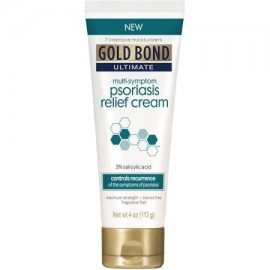Gold Bond Ultimate Multi-Symptom Psoriasis Relief Cream ácido salicílico al 3% 4 oz
