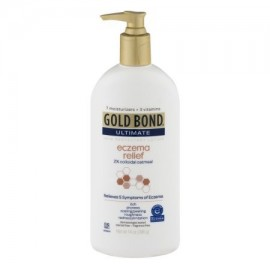 Gold Bond Ultimate Relief Eczema Skin Protectant Lotion 2% de harina de avena coloidal 14 oz