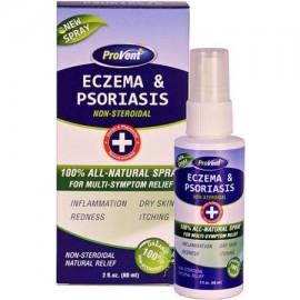 ProVent aerosol el eccema y la psoriasis Cuidado 2 fl oz