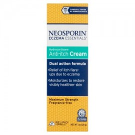 Neosporin eczema crema de Essentials Hidrocortisona Anti-Itch 1 Oz