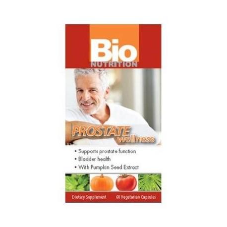 Bio Nutrition Inc. de próstata de bienestar 60 Ct