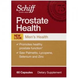 Schiff salud de la próstata con Palmetto Licopeno Selenio y Zinc Suplemento de próstata 60 ct (paquete de 4)