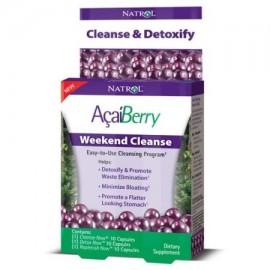 Natrol Acai Berry Cleanse fin de semana Cápsulas 30 Ct