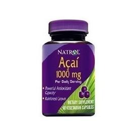 Natrol Acai 1000mg por porción de acción rápida cápsulas vegetarianas - 60 Ea