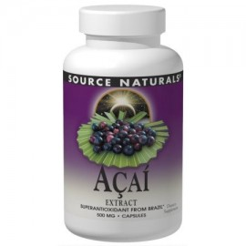 Acai Extract Source Naturals Inc. 120 Caps