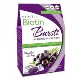 NEOCELL Biotina Explosiones 10.000 mcg- brasileña Acai Berry 30 blandas masticables
