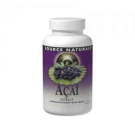 Fuente Naturals Acai Extract 500 mg Cápsulas - 120 Ea