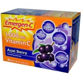 Emergen-C Healhty y elevador de energía Acai Berry Drink Mix 30 CT