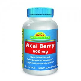 Nova Nutritions ACAI Berry 600 mg 120 Cápsulas