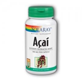 Solaray Acai 500 mg - 60 cápsulas vegetales