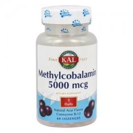 Kal - La metilcobalamina Pastilla Acai Berry (BTL-plástico) 5000mcg 60 tabletas
