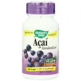 Nature's Way Acai Berry estandarizada VCaps
