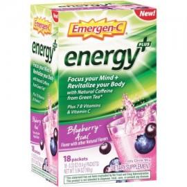 Emergen-C Energía - Blueberry-Acai Suplementos Dietéticos 033 oz la cuenta 18