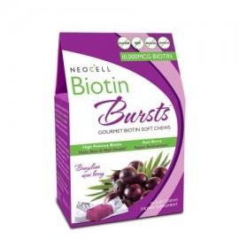 Biotina Explosiones masticable Acai Berry de alta potencia 30 blandas masticables