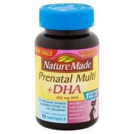 Nature Made prenatal Multi - DHA cápsulas blandas suplemento dietético 70 ct