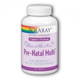 Baby-Me-Ahora prenatales fórmula original Solaray 150 más aquí