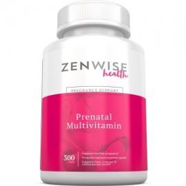Las vitaminas prenatales - multivitaminas con ácido fólico probióticos biotina y vitamina A y C - Suplemento de Optimal Mujer