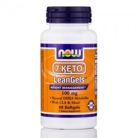 7-ceto LeanGels 100 mg - 60 Softgels por NOW