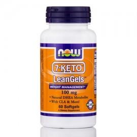 7-ceto LeanGels 100 mg - 60 Softgels por NOW