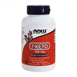 NOW Foods - 7-ceto 100 mg. - 120 cápsulas vegetales