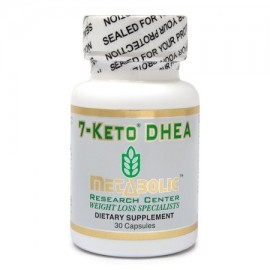 Metabolic Research Center 7 Keto DHEA - Suplementos Dietéticos 30 conteo