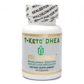 Metabolic Research Center 7 Keto DHEA - Suplementos Dietéticos 30 conteo