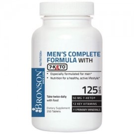Fórmula completa Bronson los hombres con 7-Keto 250 tabletas