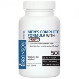 Fórmula completa Bronson los hombres con 7-Keto 100 Tabletas