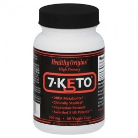 Healthy Origins 7-Keto DHEA metabolito 100 mg 60 Ct