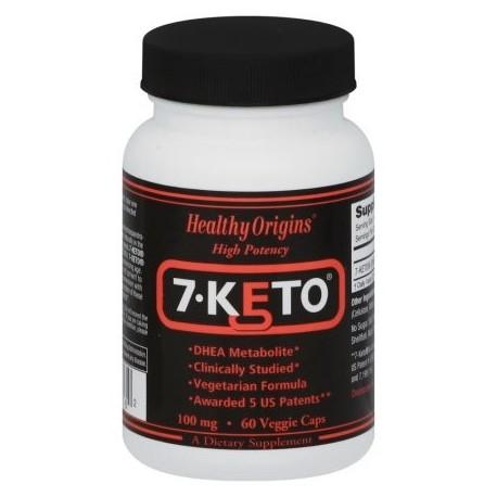 Healthy Origins 7-Keto DHEA metabolito 100 mg 60 Ct