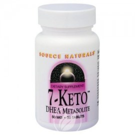 Fuente Naturals 7-Keto DHEA metabolito 50 mg comprimidos - 30 EA