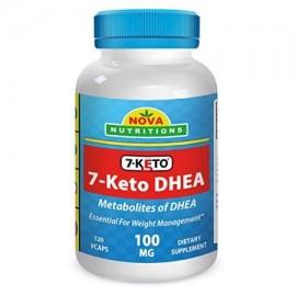 Nova Nutritions 7-ceto 100 mg 120 Vcaps