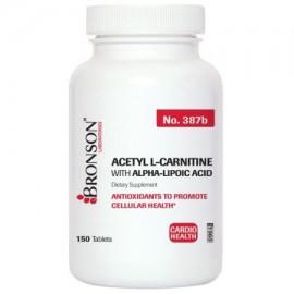 Bronson Labs- Acetil L-carnitina 500 mg con ALA 200 Mg