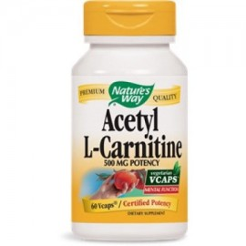 Acetil L-carnitina Nature's Way 60 VCaps
