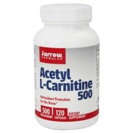 Jarrow Formulas - Acetil L-carnitina 500 mg. - 120 Cápsulas