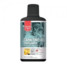 Iron-Tek Liquid Carnitine 1000 vainilla natural 16 Fl Oz