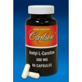 Acetil L-carnitina Carlson Laboratories 60 Caps