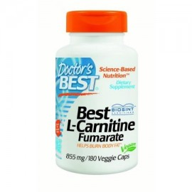 Doctor's Best L-Carnitina Fumarato 855 mg 180 Ct