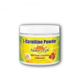 Acetly L-Carnitina Powder 1500 mg - Natural Nature's Life 236 g Polvo