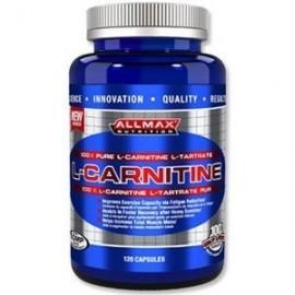 ALLMAX L-carnitina L-tartrato 120 cápsulas El suministro de 500 mg de L-Carnitina Vega ...